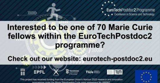 EuroTechPostdoc2 programme